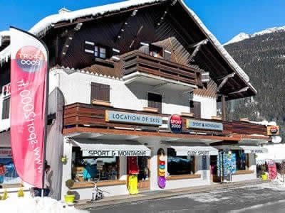 Ski hire shop CUBY SPORT, Les Houches in 130 Avenue des Alpages