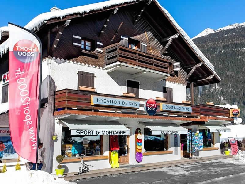 Ski hire shop CUBY SPORT, Les Houches in 130 Avenue des Alpages