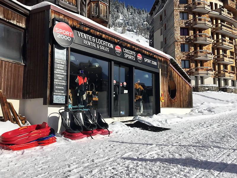 Ski hire shop CROZATS SPORTS, 135 route des Crozats in Avoriaz