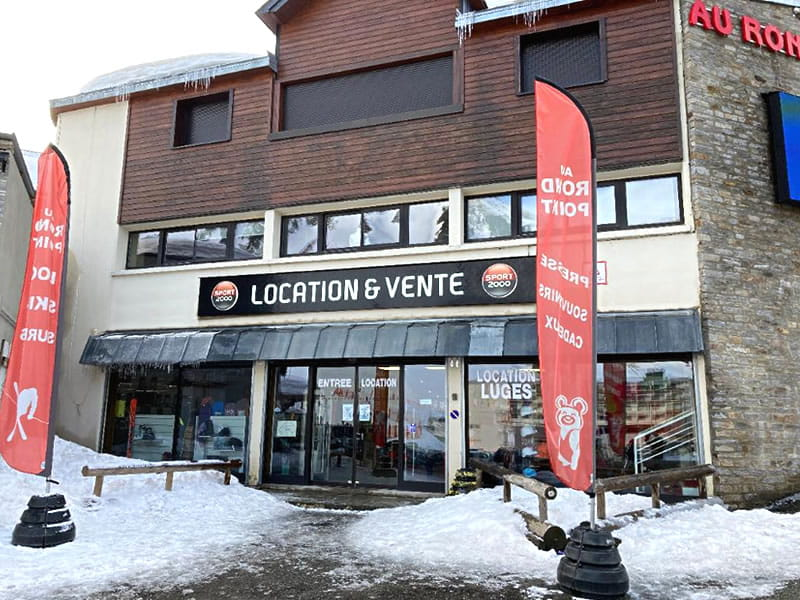 Ski hire shop Le Rond Point in 15 Avenue du Tourmalet, La Mongie
