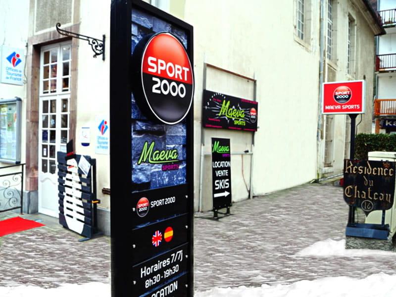 Ski hire shop MAEVA SPORTS, Luchon-Superbagnères in 16 Allées d'Etigny
