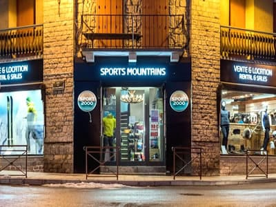 Ski hire shop SPORTS MOUNTAINS, Font Romeu in 2 Avenue Emmanuel Brousse
