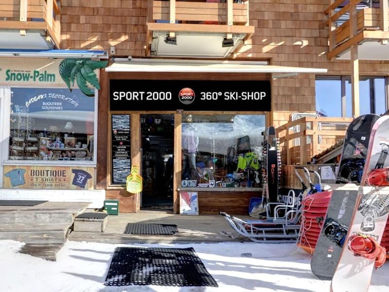 Ski hire shop 360 SKISHOP, 33 promenade du Festival in Avoriaz