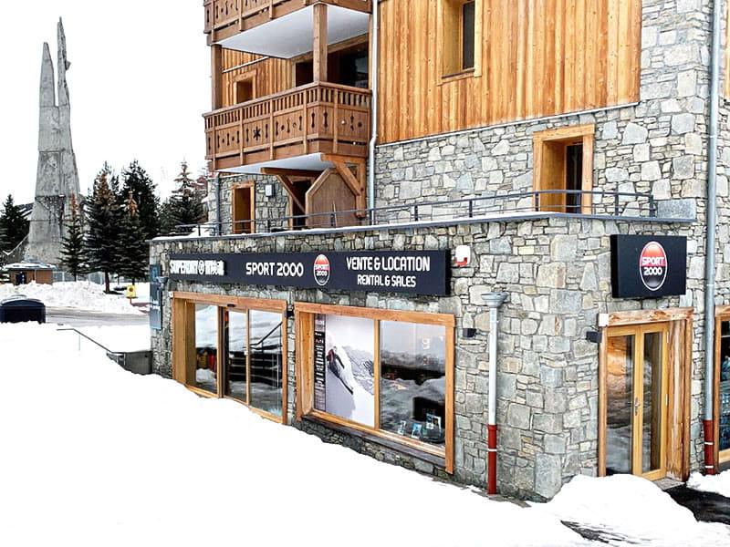 Ski hire shop LES 2 SKIS in 34, avenue de la Muzelle - Résidence Neige Soleil, Les Deux Alpes