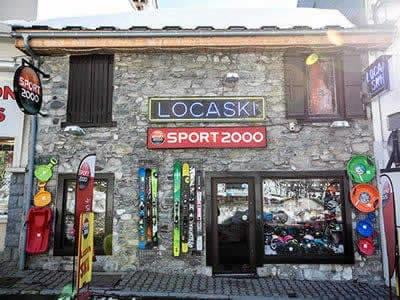 Ski hire shop LOCASKI, Bareges in 4 Rue Ramon