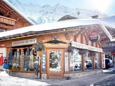 Ski hire shop J.B. SPORTS, Les Contamines-Montjoie in 71 route Notre Dame de la Gorge