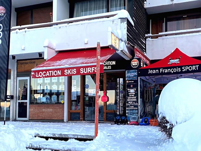 Ski hire shop JEAN FRANCOIS SPORT in 76 avenue Henry Duhamel, Chamrousse