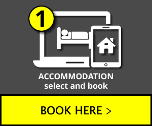 Select accommodation and book desired offer