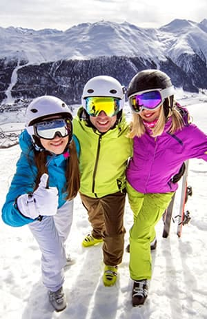 Why book the ski lesson online in advance?