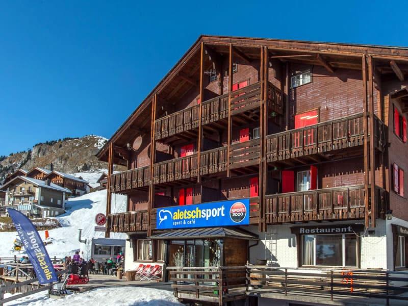 Ski hire shop ALETSCH SPORT OST, Aletschpromenade 81 in Riederalp