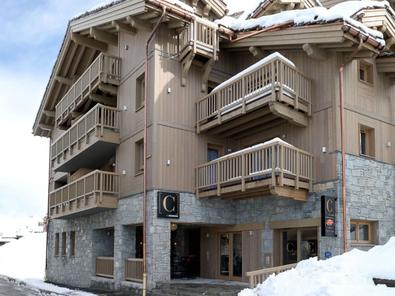 Ski hire shop ALPINE RESIDENCE LE C in Alpine Residence Le C - 122, rue de Notre Dame des Neiges, Courchevel 1650