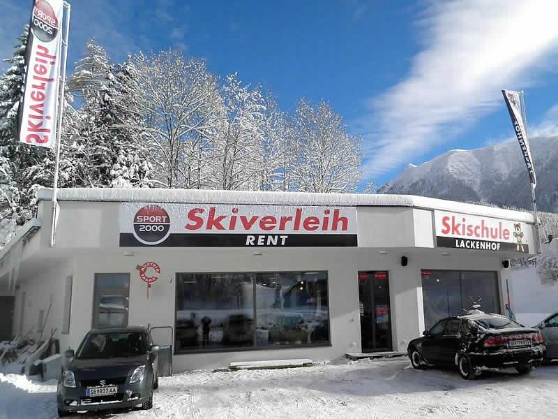 Ski hire shop SPORT 2000 Skiverleih Ötscher, Alte Bahn 1 [Talstation Eibenkogel] in Lackenhof am Ötscher