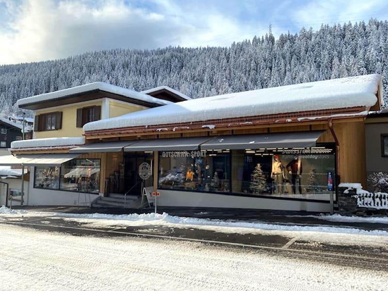 Ski hire shop Gotschna Sport, Klosters in Alte Bahnhofstrasse 5