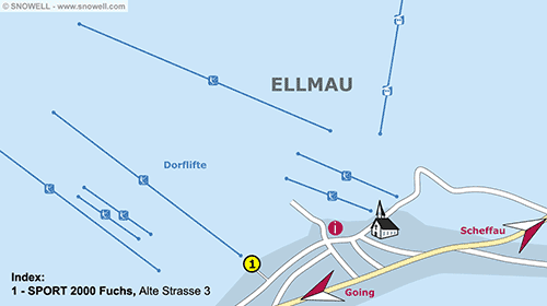 Resort Map Ellmau