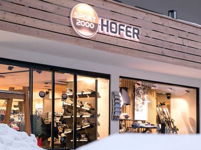 Ski hire shop SPORT 2000 Hofer, Neustift im Stubaital in Am Dorfplatz 13