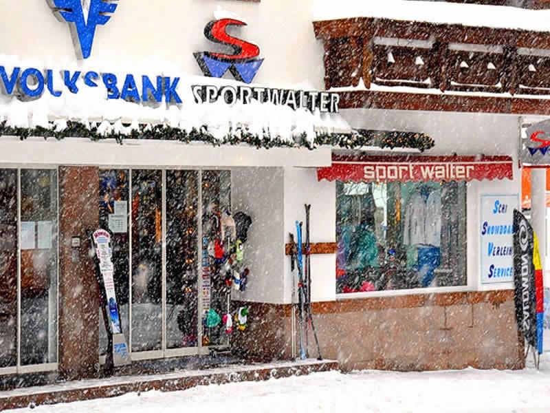 Ski hire shop Sport Walter, Am Dorfplatz 41 in Galtür