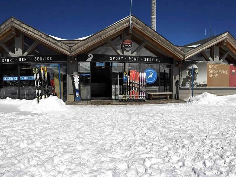 Ski hire shop LARCHER Verleih- Test und Servicecenter, Am Kaunertaler Gletscherparkplatz in Feichten/Kaunertal