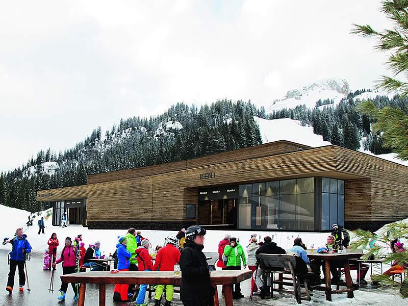 Ski hire shop Sport Pauli Station Ifenbahn, Auenalpe 4 - Talstation Ifenbahn in Kleinwalsertal/Hirschegg