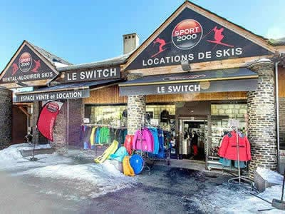 Ski hire shop LE SWITCH, Les Angles in Avenue de Mont Louis