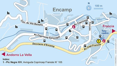 Resort Map Encamp