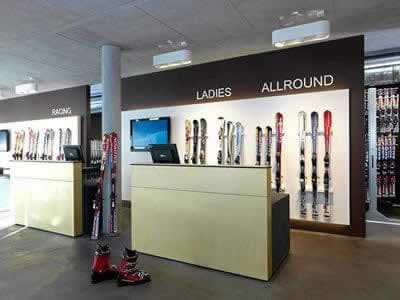 Ski hire shop Schiverleih Kurt Hupfauf, Fulpmes in Bahnstrasse 7