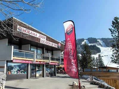 Ski hire shop GUILLET SPORT - SKIRAMA 2000, Villard de Lans - Cote 2000 in Balcon de Villard/Cote 2000