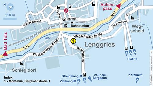 Resort Map Lenggries
