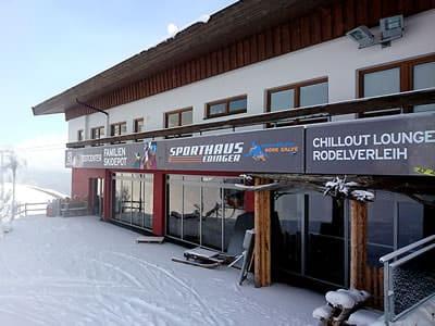 Ski hire shop Sport Edinger Testcenter, Söll in Bergstation Gondelbahn Hochsöll