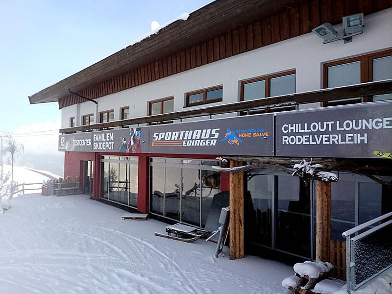 Ski hire shop Sport Edinger Testcenter, Bergstation Gondelbahn Hochsöll in Söll