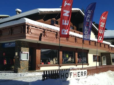 Ski hire shop Hofherr Sport, Berwang in Berwang 46