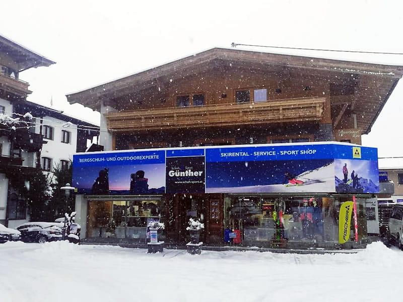 Ski hire shop Schuh Sport Günther in Birkenweg 23, Ellmau