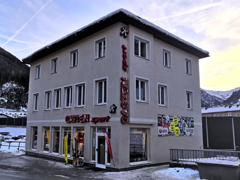 Ski hire shop Gastein Sport, Böcksteiner Bundesstrasse 2 in Bad Gastein