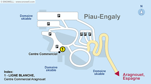 Resort Map Piau Engaly