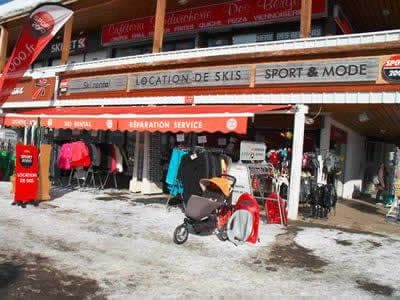 Ski hire shop OLIVIER SPORTS, Alpe d'Huez in Centre commercial des Bergers
