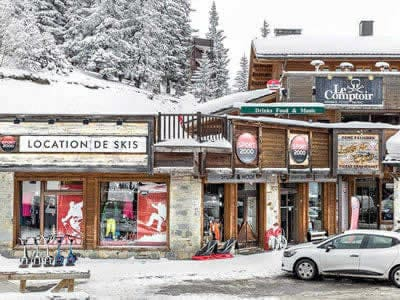 Ski hire shop ARPIN SPORT, La Rosiere in Centre Commercial La Rosière