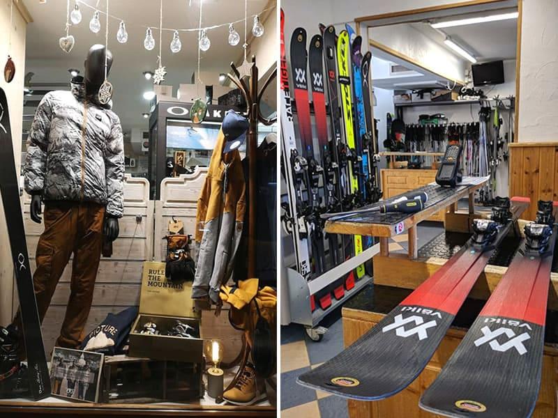 Ski hire shop LES TRYOSKYS, La Toussuire in Chalet Le Floral