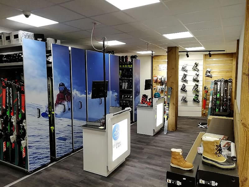 Ski hire shop BELLEVILLE PRO GLISSE, Chemin de Notre Dame - quartier CASEBLANCHE in Saint Martin de Belleville