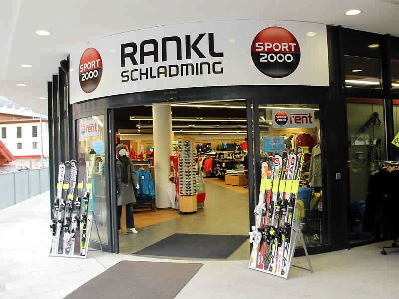 Ski hire shop SPORT 2000 Rankl, Coburgstraße 53 [Planai Talstation] in Schladming