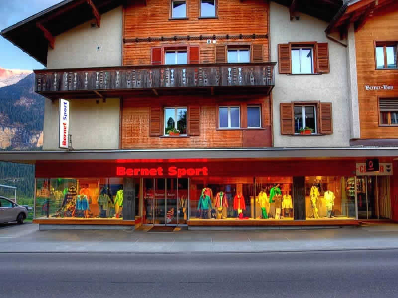 Ski hire shop Bernet Sport, Dorfstrasse 128 in Grindelwald