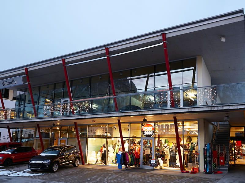 Ski hire shop WW SPORT 2000 Wörndle, Dorfstrasse 26 in Maurach