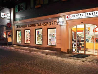 Ski hire shop SPORT 2000 Rentalcenter, Hinterglemm in Dorfstrasse 301