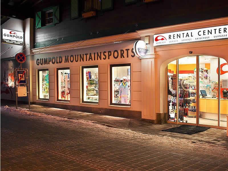 Ski hire shop SPORT 2000 Rentalcenter, Dorfstrasse 301 in Hinterglemm