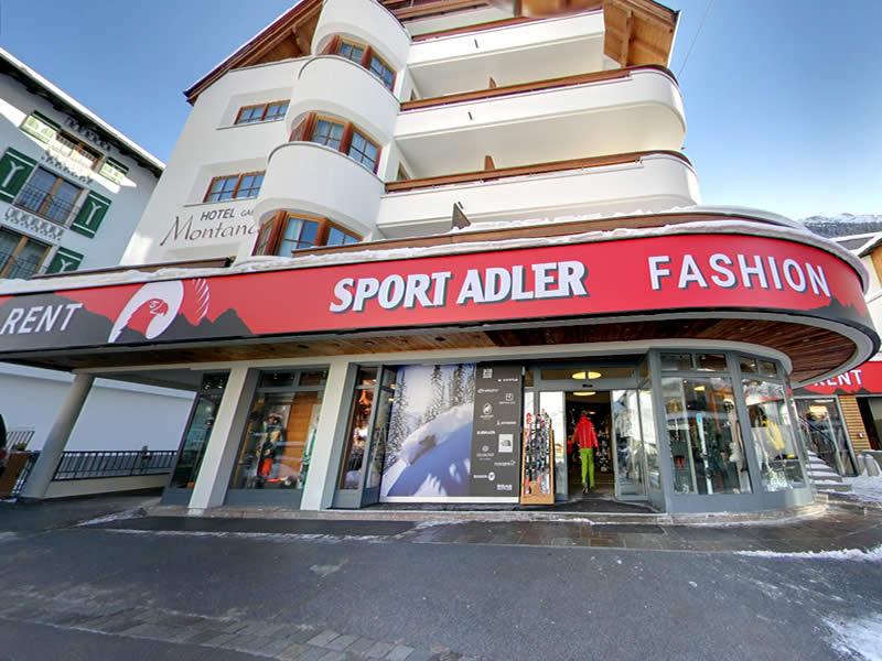 Ski hire shop Sport Adler, Dorfstrasse 75 in Ischgl