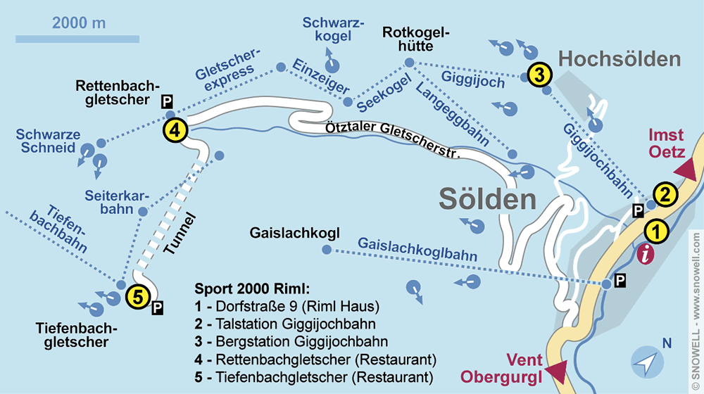 Ski hire shop Check In, Sölden in Giggijochbahn Talstation [Giggijochstrasse 16]