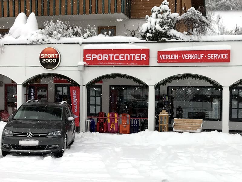 Ski hire shop SPORT 2000 Sportcenter, Dorfstrasse 91 in Bad Kleinkirchheim
