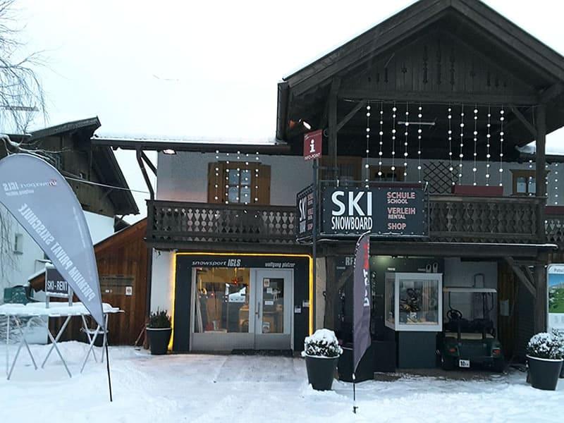 Ski hire shop Snowsport Igls in Eichlerstrasse 16, Innsbruck - Igls