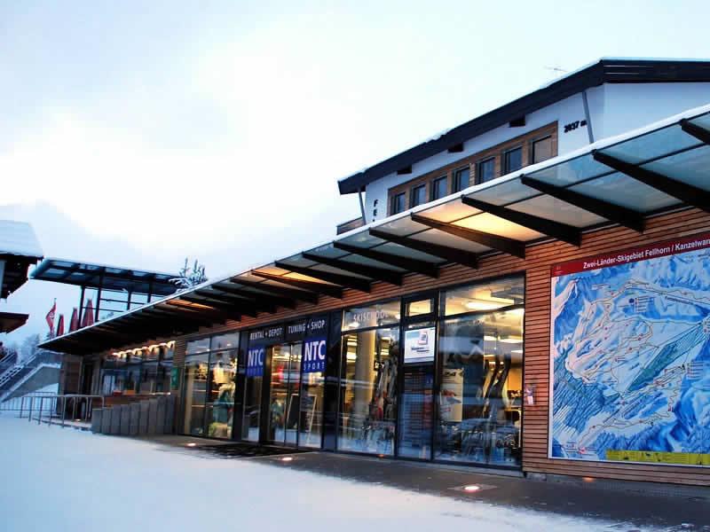 Ski hire shop NTC - Fellhornbahn, Faistenoy 10 in Oberstdorf
