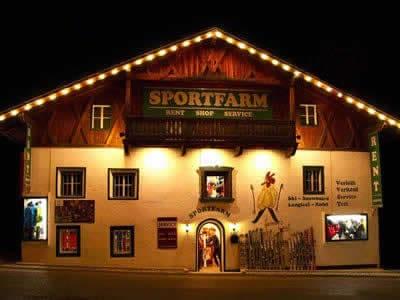 Ski hire shop Sportfarm, Neustift im Stubaital in Franz-Senn-Strasse 87 [Ortsteil Milders]