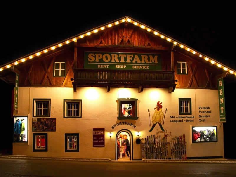 Ski hire shop Sportfarm, Franz-Senn-Strasse 87 [Ortsteil Milders] in Neustift im Stubaital