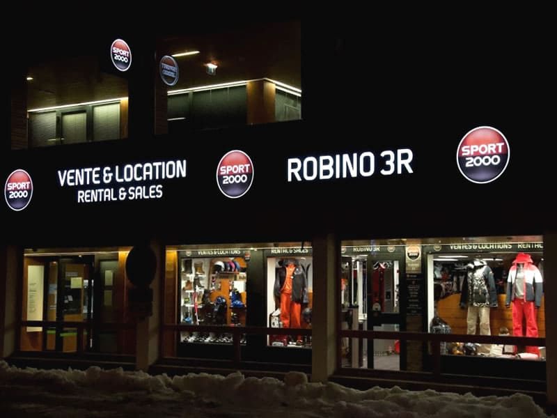 Ski hire shop ROBINO 3R, La Plagne - Centre in Galerie Mercure